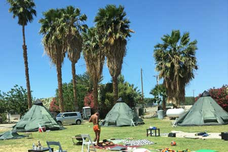 Coachella RV Sherpa Village 2016 at The Ranch